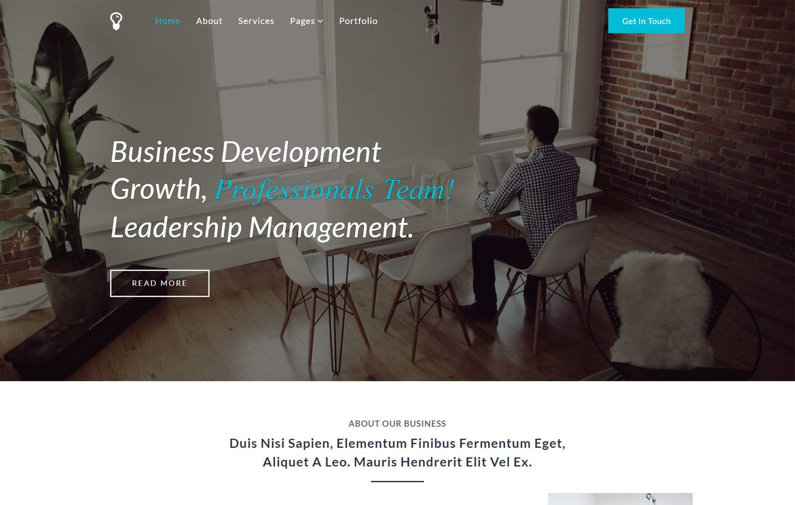 Leadership a Flat Bootstrap Responsive Web Template Mobile website template Free