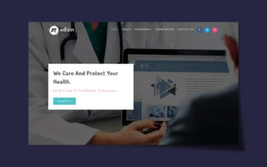 Medizin Medical Category Bootstrap Responsive Web Template