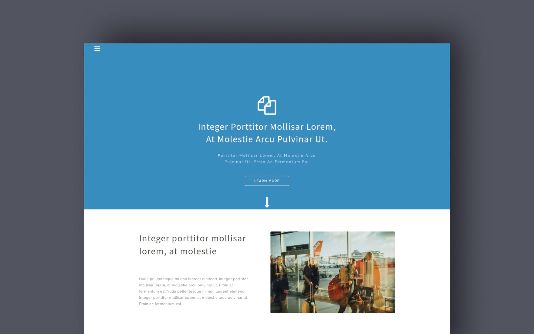 Nomad a Travel Category Bootstrap Responsive Web Template