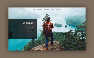 Wander a Travel Category Flat Bootstrap Responsive Web Template