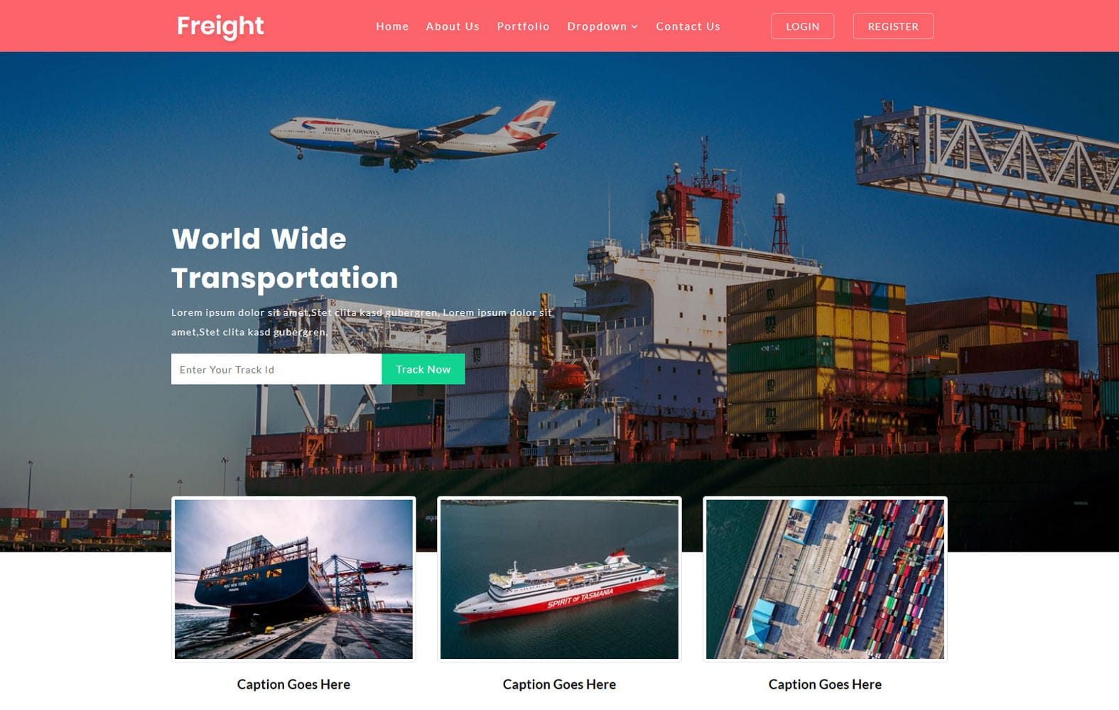 Freight a Transportation Category Bootstrap Responsive Web Template Mobile website template Free