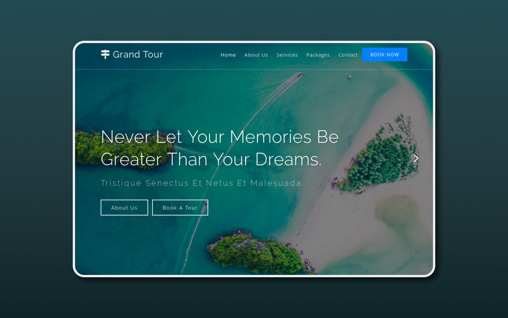 garnd-tour-Boostrap-website-templates
