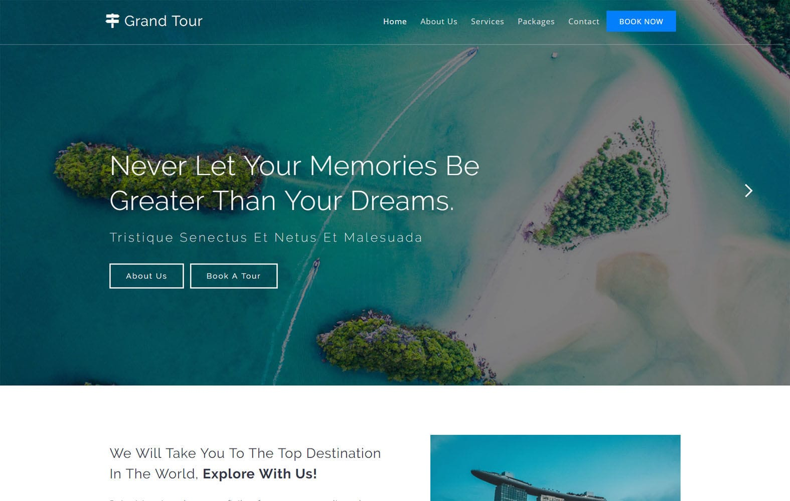 Grand Tour a Travel Category Flat Bootstrap Responsive Web Template