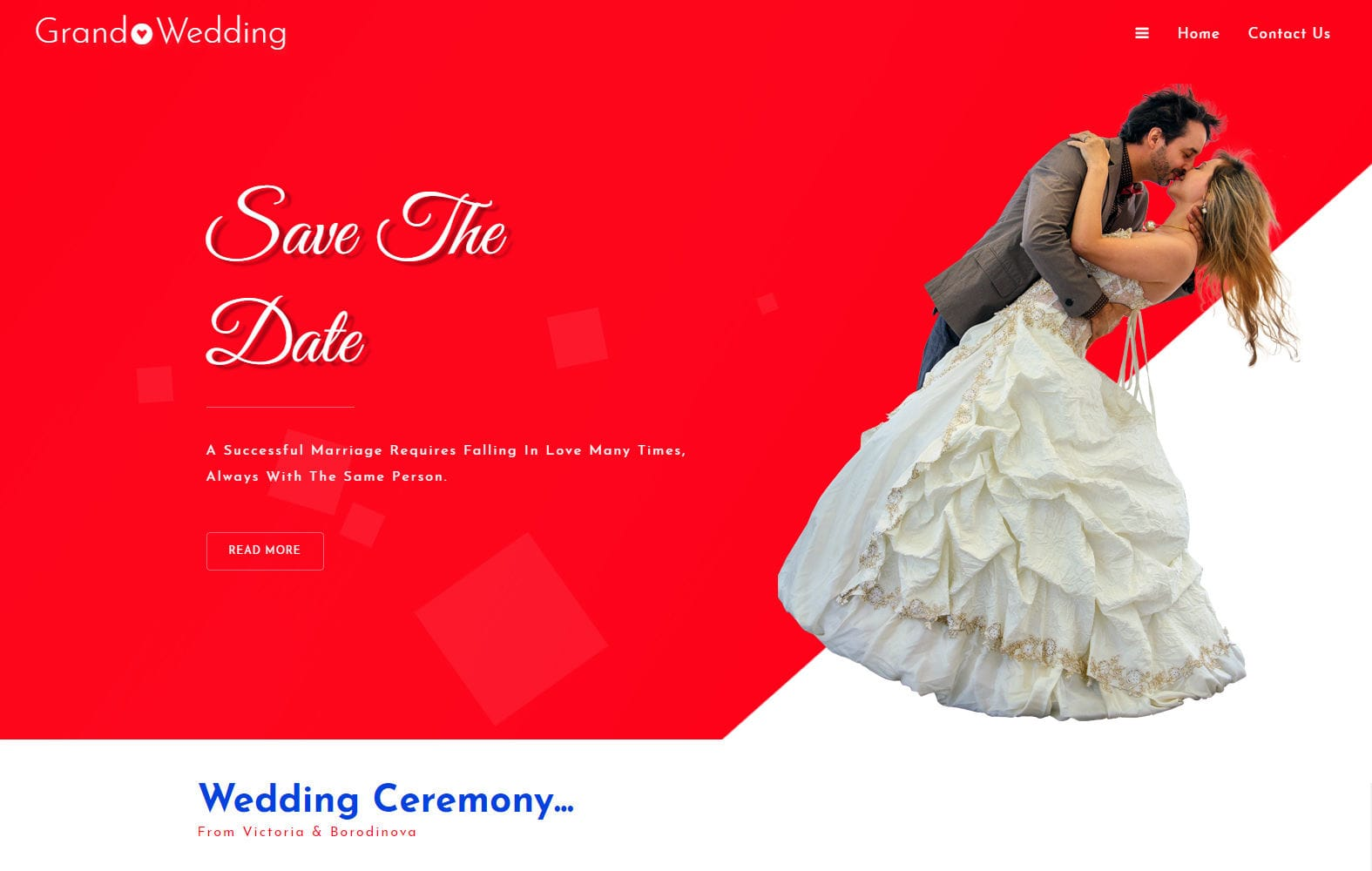 Grand Wedding a Wedding Category Bootstrap Responsive Web Template Mobile website template Free