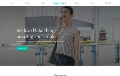 Realness a Real Estate Category Bootstrap Responsive Web Template