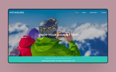 Voyaging a Travel Category Bootstrap Responsive Web Template