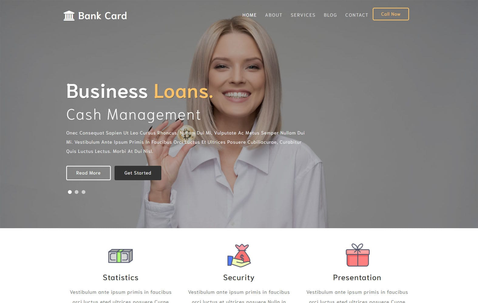 Bank Card a Banking Category Flat Bootstrap Responsive Web Template Mobile website template Free