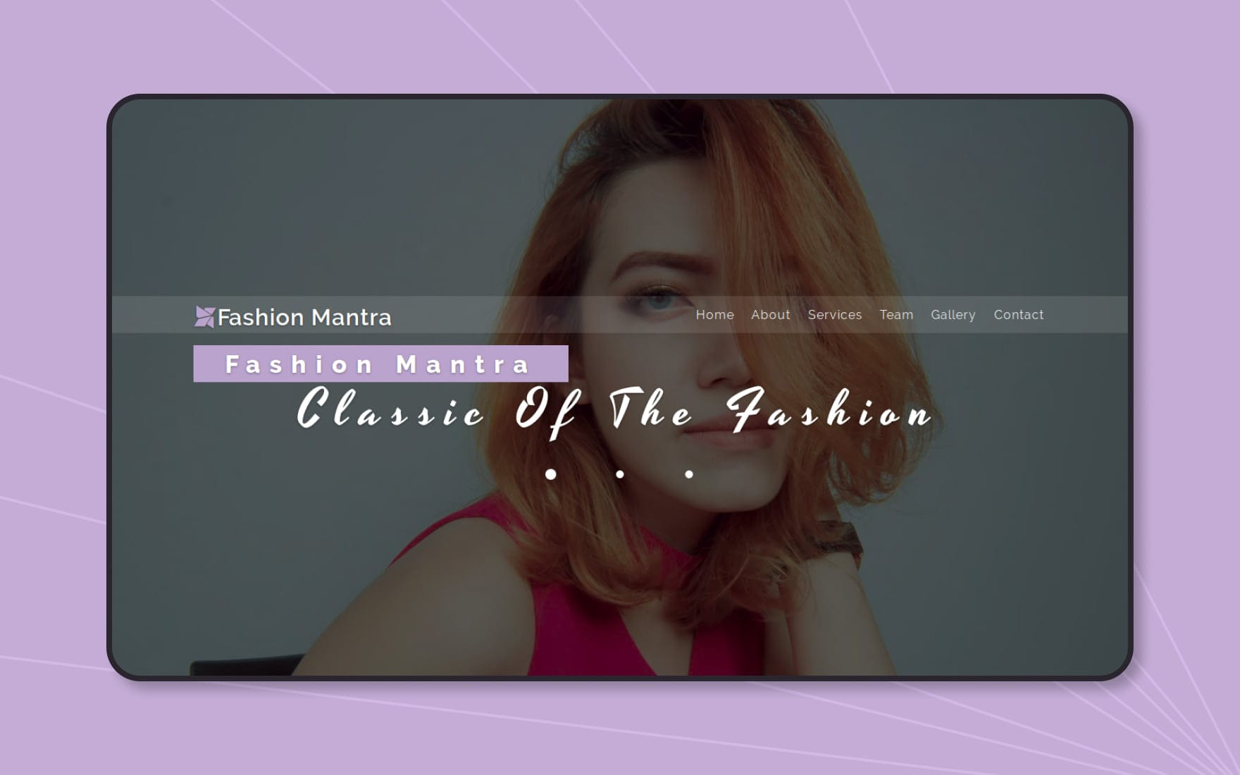 Fashion Mantra a Fashion Category Bootstrap Responsive Web Template