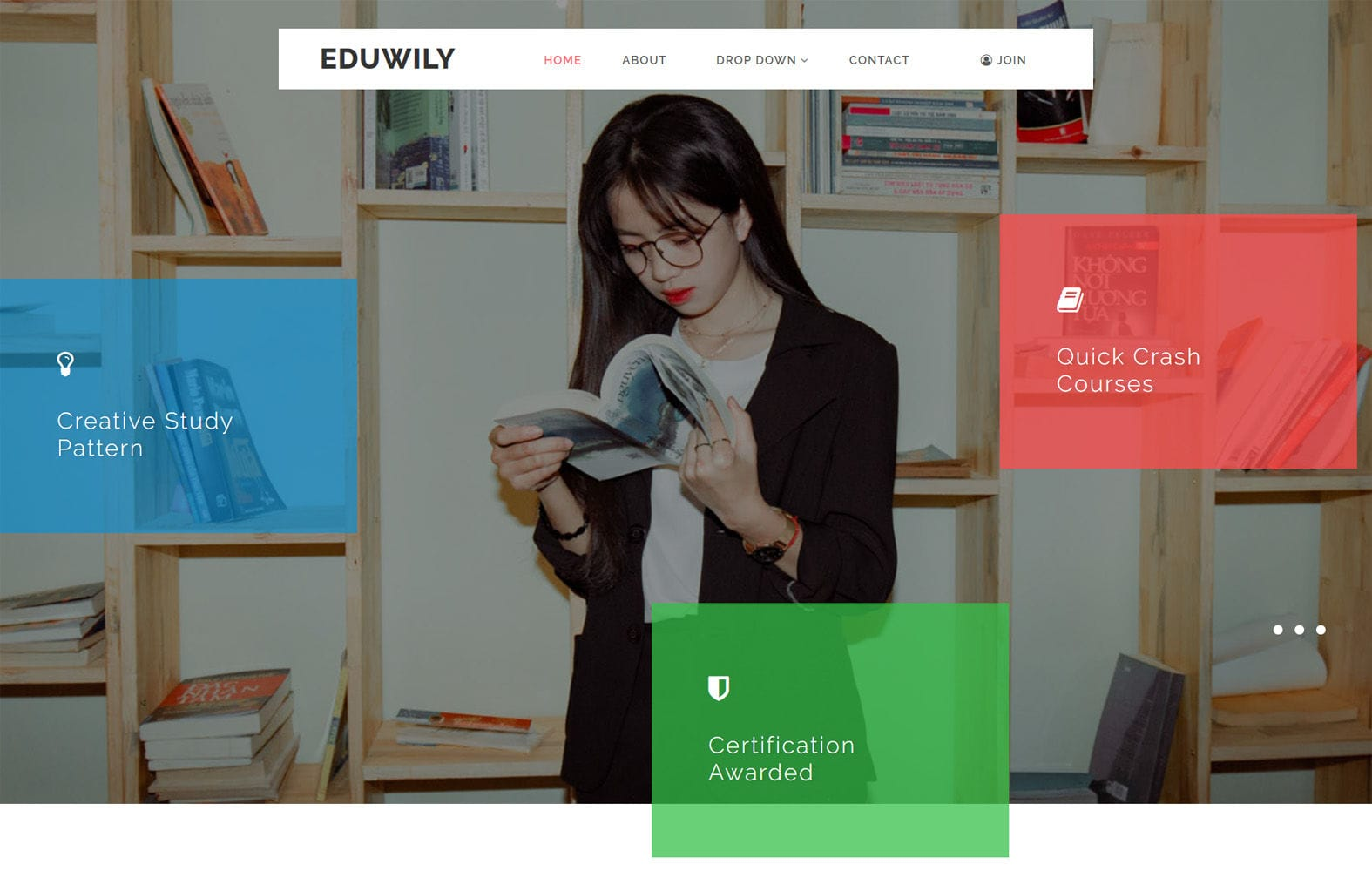 EduWily an Education Category Bootstrap Responsive Web Template Mobile website template Free