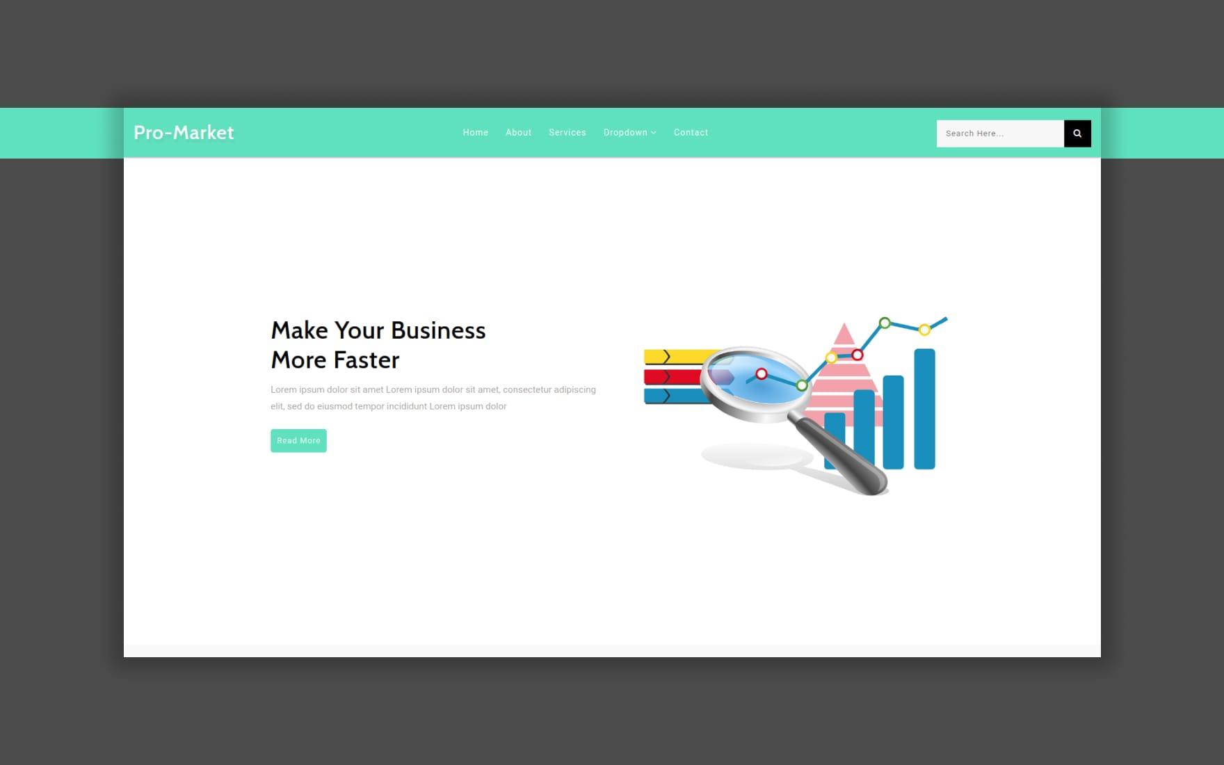 pro-market-website-template