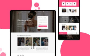Match Fix – Free Responsive Wedding Website Template