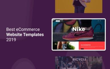 Best eCommerce Website Templates 2019