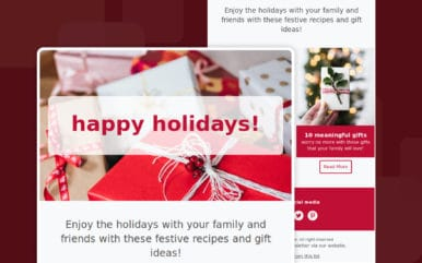 Happy Holidays! 2019 Email Template