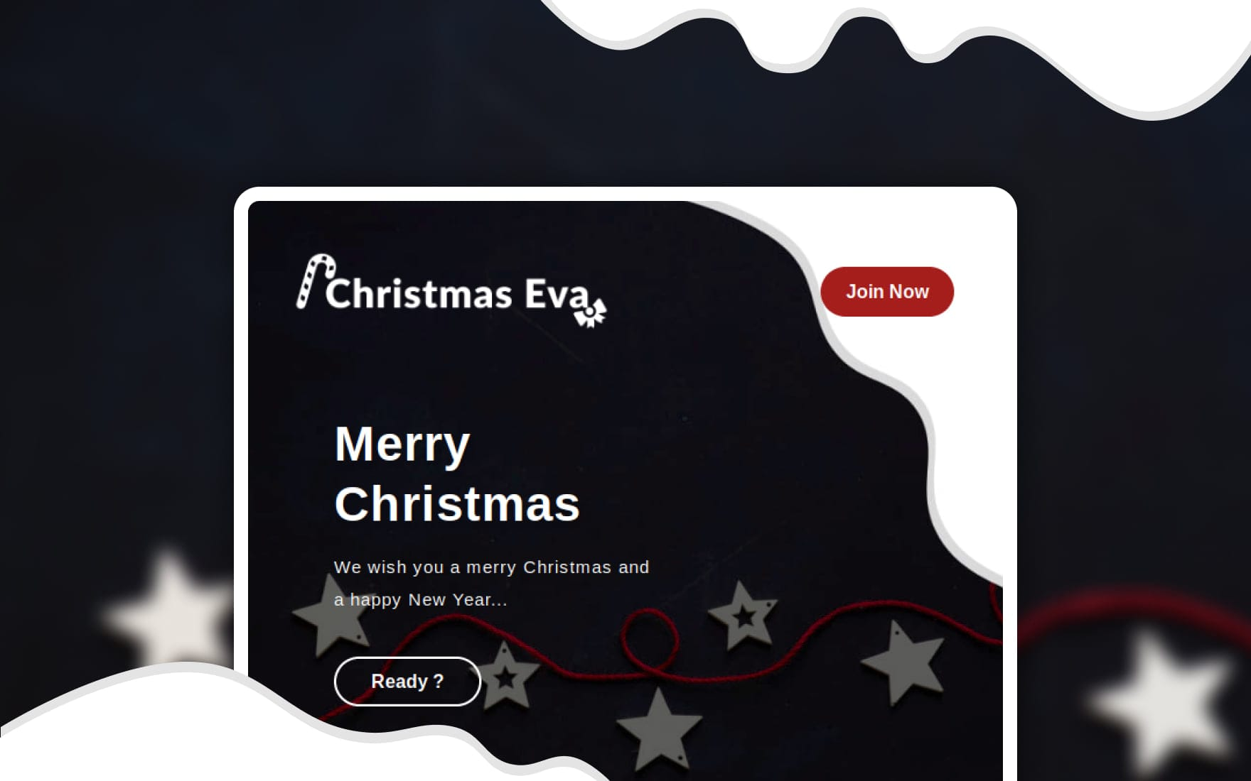 Christmas Eve Responsive Email Template 2019