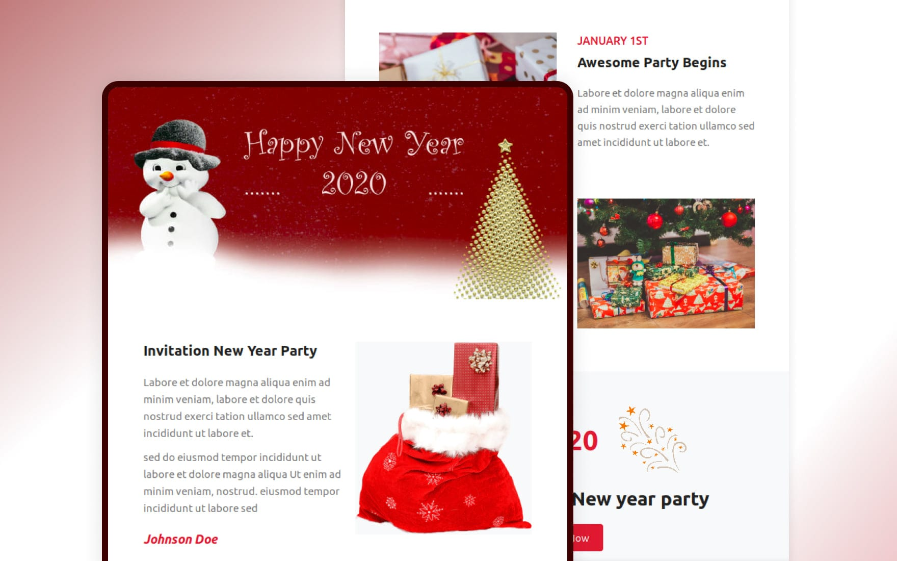 Invite Responsive Email Template