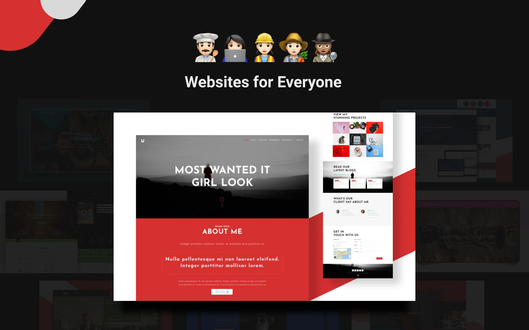 personal-website-templates