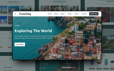 Travelling Website Template